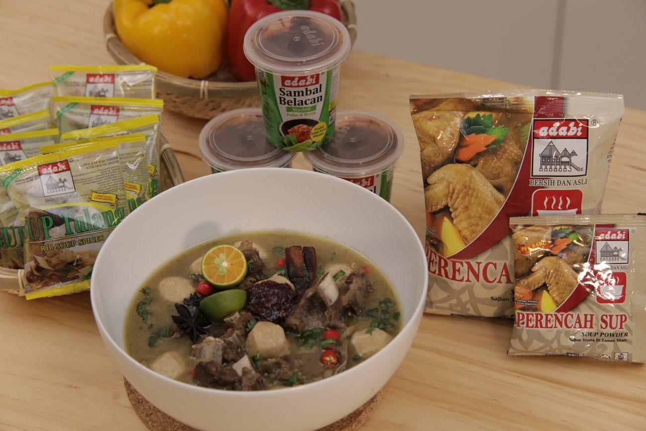Sup Keras Lembut