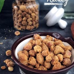 Kudapan Kacang Air Fryer