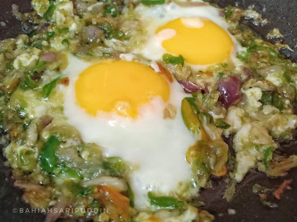 Telur Mata Sambal Hijau